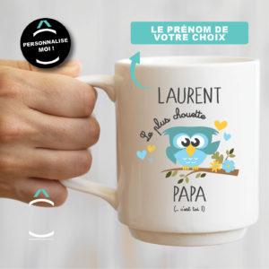 Mug personnalisable – Le plus chouette papa