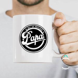 Mug – Elu le meilleur papa