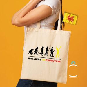 Tote-bag – Wallonie (r)évolution