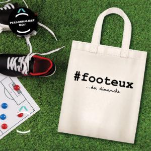 Tote-bag – #Footeux… Du dimanche