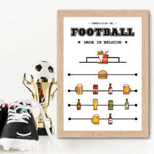Cadre – Définition du football made in Belgium