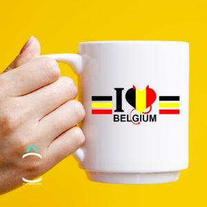 Mug – I love Belgium
