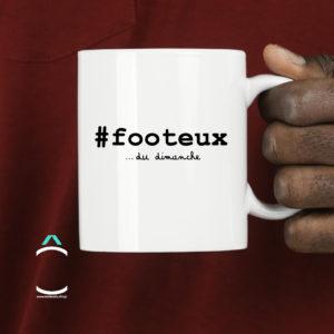 Mug – #Footeux… Du dimanche!