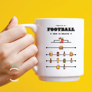 Mug – Définition du football made in Belgium