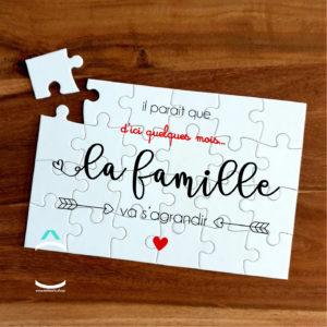 Puzzle – Il parait que la famille va s'agrandir