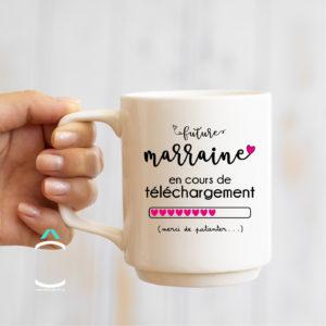 Mug – Future marraine en cours de téléchargement