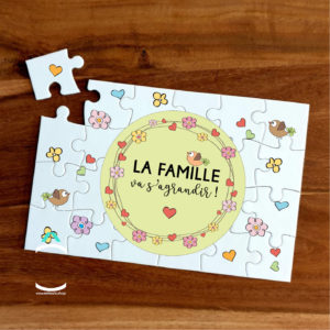 Puzzle – La famille va s'agrandir