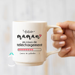 Mug – Future maman en cours de téléchargement