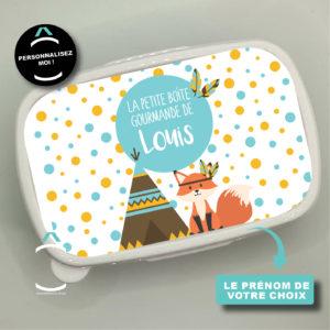 Boîte à tartines/goûter personnalisée – La petite boîte gourmande