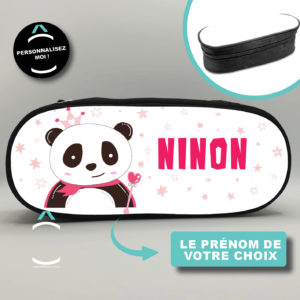 Trousse personnalisée – Princesse panda