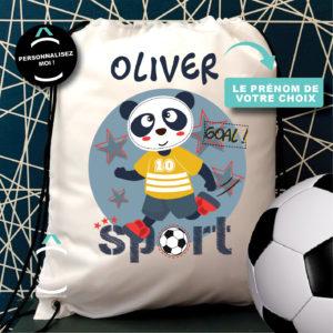 Sac de gym/sport personnalisé – Panda