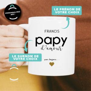 Mug personnalisable – D'amour