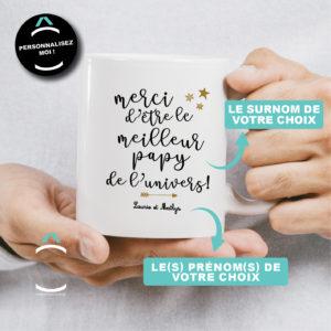 Mug personnalisable – Merci d'être le meilleur de l'univers