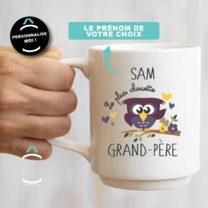 Mug personnalisable – Le plus chouette grand-père