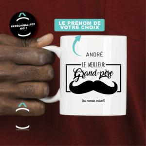 Mug personnalisable – Le meilleur grand-père de l'univers