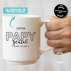 Mug personnalisable – Papy génial
