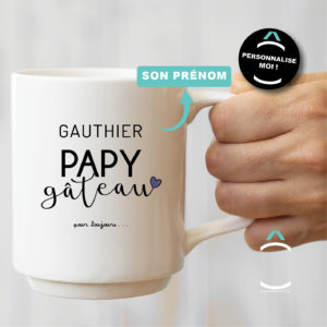 Mug personnalisable – Papy gâteau