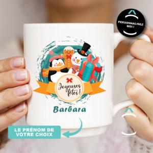 Mug personnalisable – Noël