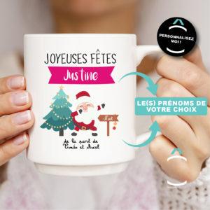 Mug personnalisable – Père Noël