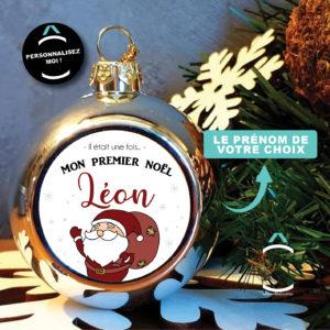 Boule de Noël personnalisable – Mon premier Noël